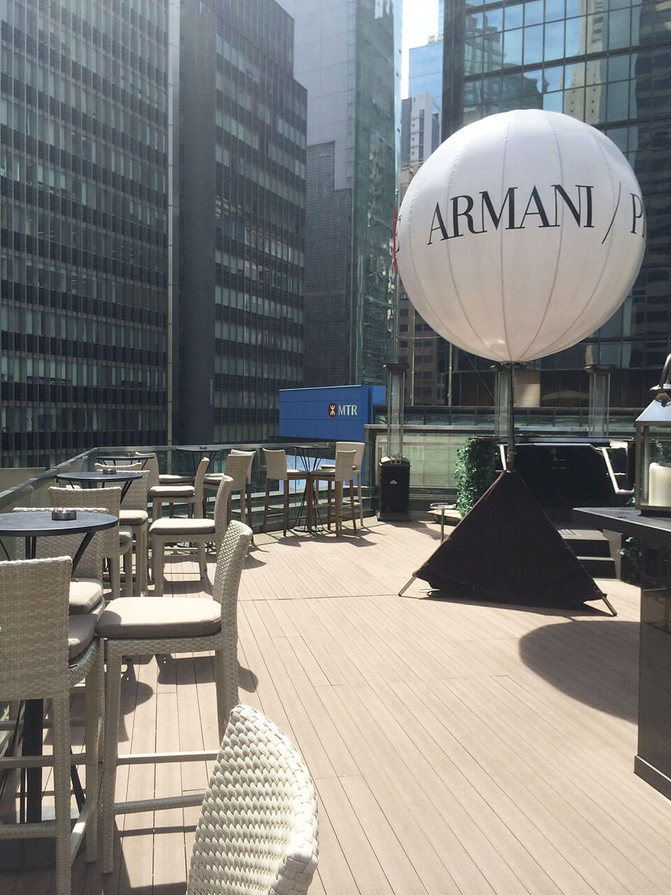 High Tea at the AQUA @Armani/Prive