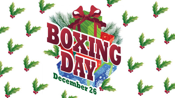 Boxing Day 聖誕下午茶